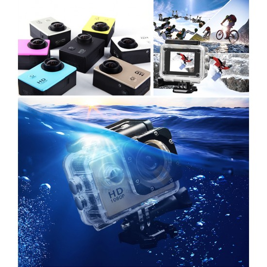 Waterproof Action Video Camera