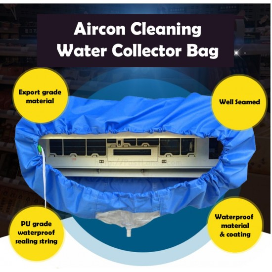 Aircon Cleaning Water Collector Bag With Pipe