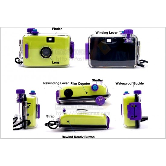 Aquapix Waterproof Film Camera