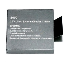 Battery For Waterproof Action Camera