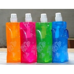 Foldable Water Bottles  - Normal 480ml