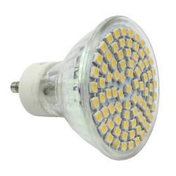 60 LEDs White Bulb GU10