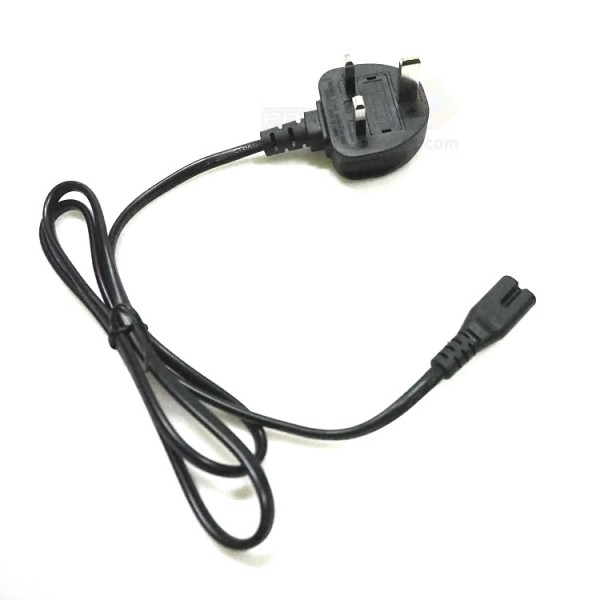 UK Plug Power Cable (2 Round Pins)