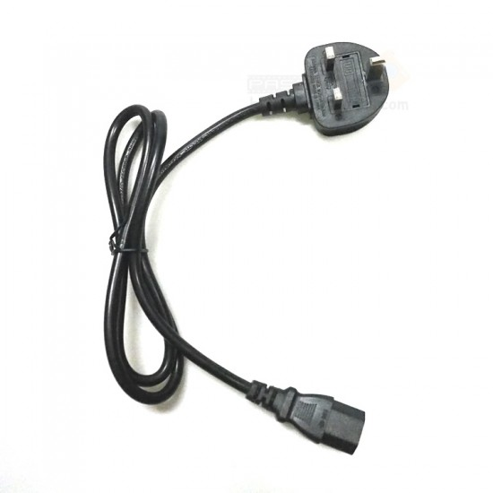UK Plug Power Cable (3 Flat Pins)