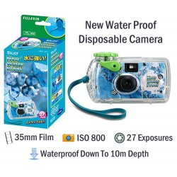 Fujifilm New Waterproof Disposable Film Camera [27 Exp]