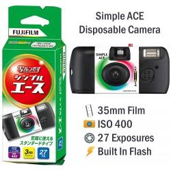 Fujifilm Simple Ace Disposable Film Camera [27 Exp]