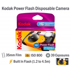 Kodak Power Flash Disposable Film Camera [39 Exp]