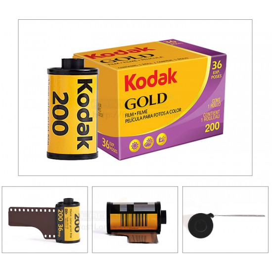 Kodak Gold 200 35mm Film