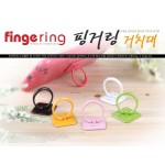 Fingering Mobile Phone Grip Holder Stand
