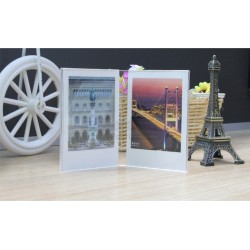 Acrylic Mini Photo Frame Stand [2 Slots]