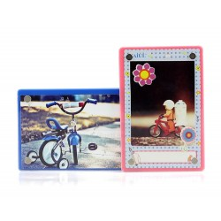 Acrylic Magnetic Mini Color Photo Frame [1 Slot]