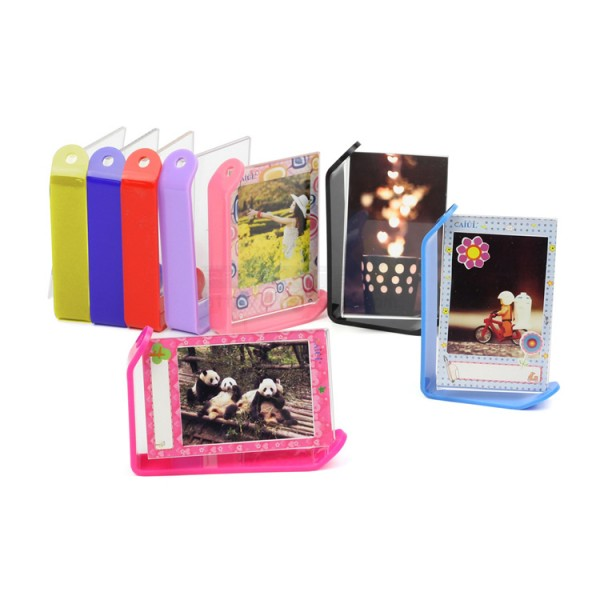 Turnable Acrylic Photo Frame Stand For Instax Mini Film