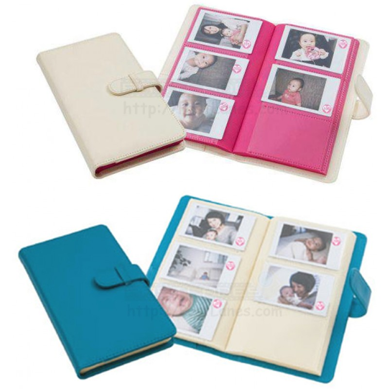 Baby Box Soft Leather Album For Instax Mini Film 120 Slots