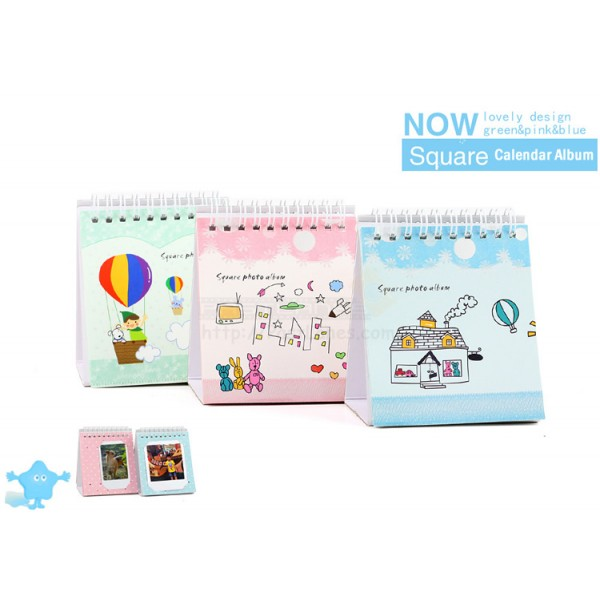 Calendar Album For Instax Square And Mini Film