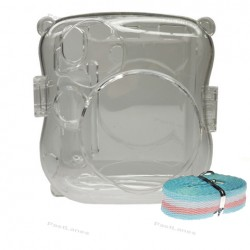Instax Mini 25 Crystal Clear Transparent Case