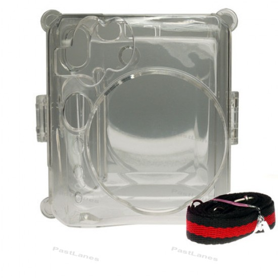Instax Mini 50S Piano Crystal Clear Transparent Case
