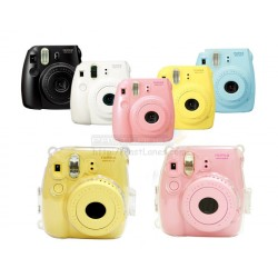 Instax Mini 8, Mini 8+, Mini 9 Crystal Clear Transparent Case