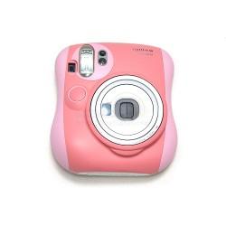 Instax Mini 25 Polaroid Camera (Mixed Dark Pink)