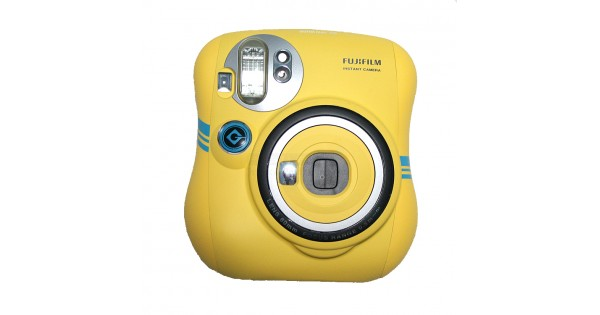 Minion Camera Case : Instax mini 25 polaroid camera minion