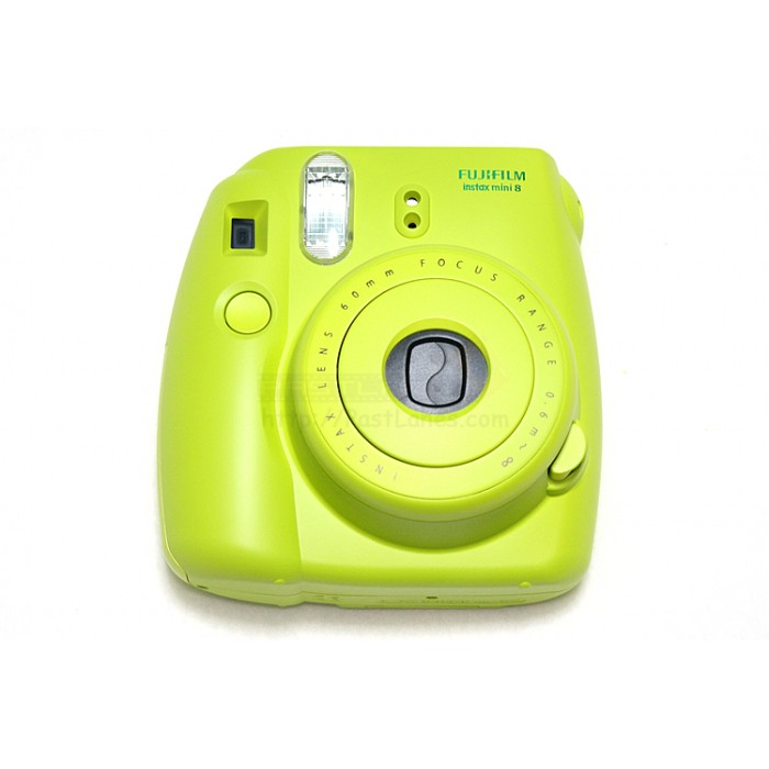 instax mini 8 polaroid camera green. Black Bedroom Furniture Sets. Home Design Ideas