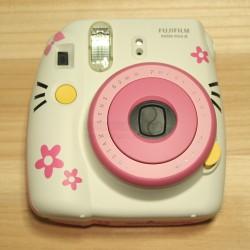 Instax Mini 8 Polaroid Camera (White Kitty)
