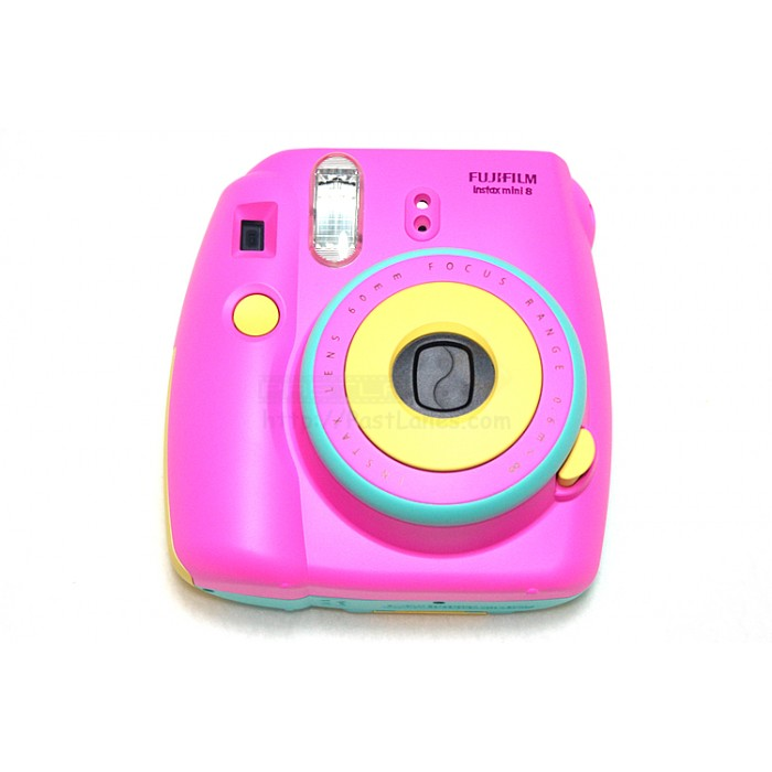 instax mini 8 polaroid camera pink blue yellow mixed. Black Bedroom Furniture Sets. Home Design Ideas