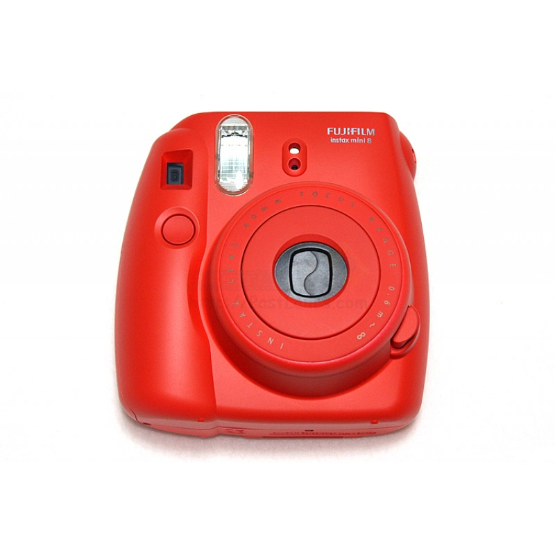 instax mini 8 polaroid camera red. Black Bedroom Furniture Sets. Home Design Ideas