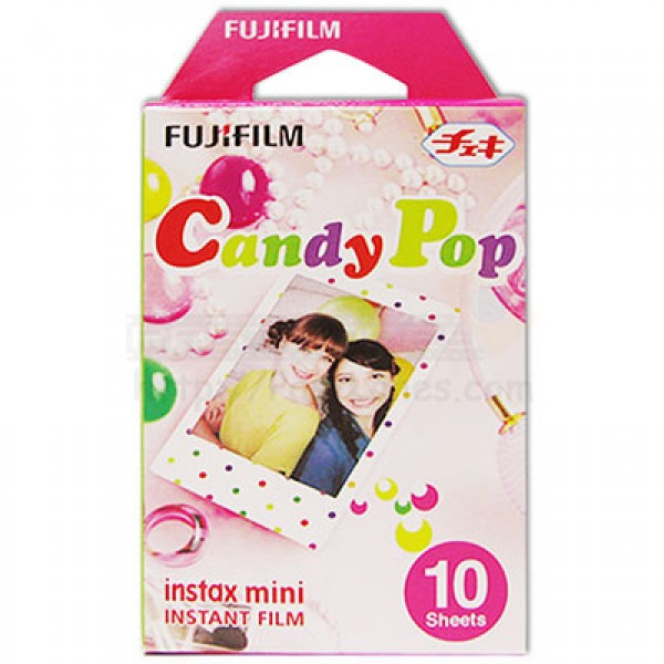 Fujifilm Instax Mini Film (Candy Pop)
