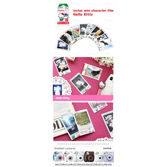 Fujifilm Instax Mini Film (Hello Kitty)