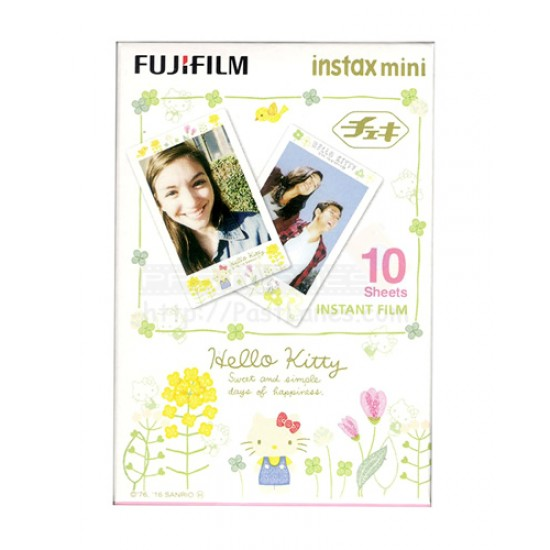 Fujifilm Instax Mini Film (Hello Kitty) [Sweet and Simple Days Of Happiness]