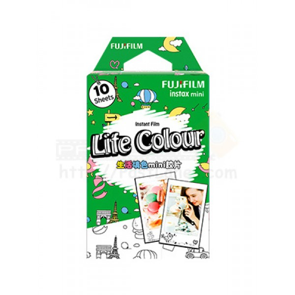 Fujifilm Instax Mini Film (Life Colour)