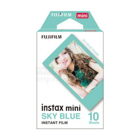 Fujifilm Instax Mini Film (Sky Blue)