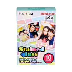 Fujifilm Instax Mini Film (Stained Glass)
