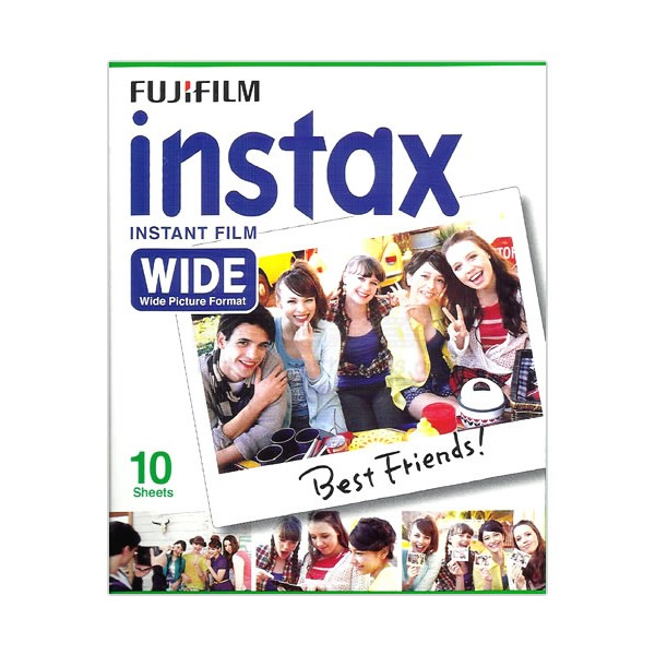 Fujifilm Instax Wide Film (Plain)