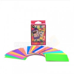 Instax Film Skin Sticker (Fluorescent Colours) [Mini Film]