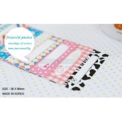 Instax Film Skin Sticker (Message Memo Pattern) [Mini Film]
