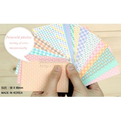 Instax Film Skin Sticker (Milky Pastel Color Pattern) [Mini Film]