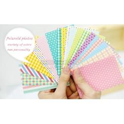 Instax Film Skin Sticker (Pastel Color Pattern) [Mini Film]