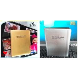 Gold/Silver Album For Instax Mini Film [64 Slots]