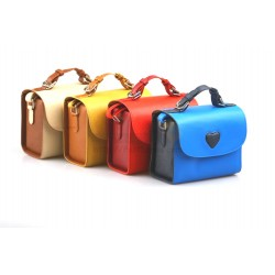 Heart Leather Bag