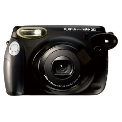 Fujifilm Instax 210 Wide Polaroid Camera (Black)  + Mystery Gift