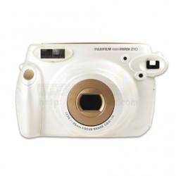 Fujifilm Instax 210 Wide Polaroid Camera (Pearl)  + Mystery Gift