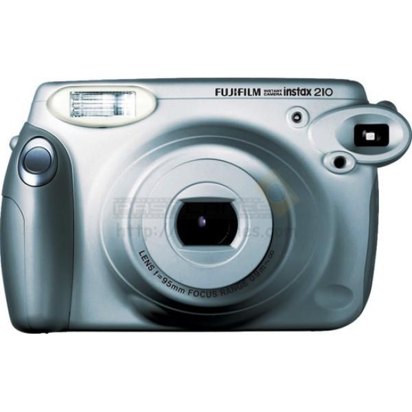 Fujifilm Instax 210 Wide Polaroid Camera (Silver Wedding Edition) + Mystery Gift