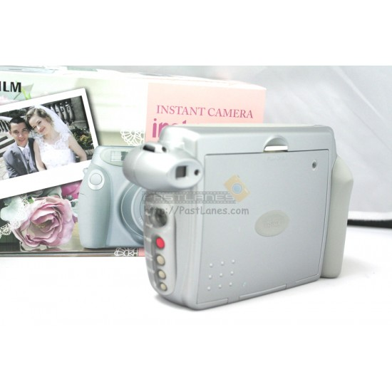 Fujifilm Instax 210 Wide Polaroid Camera (Silver Wedding Edition) + Mystery Gift