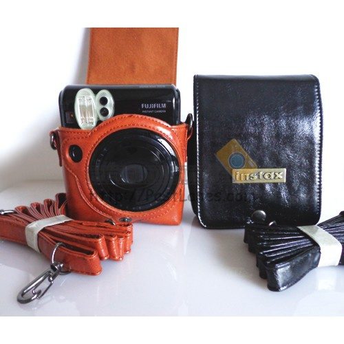 Leather Case For Instax Mini 50S