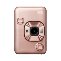 Instax LiPlay Hybrid Camera & Smartphone Photo Printer (Blush Gold)