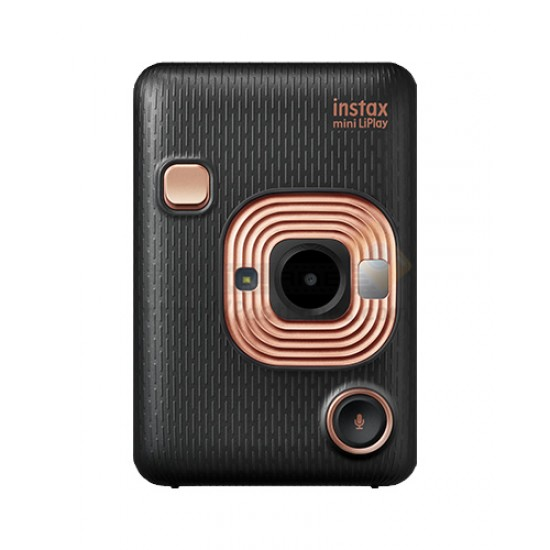 Instax LiPlay Hybrid Camera & Smartphone Photo Printer (Elegant Black)