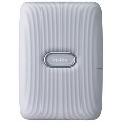 Instax Mini Link Smartphone Photo Printer (Ash White)