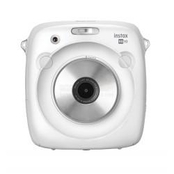 Fujifilm Instax SQUARE SQ10 Hybrid Instant Camera (White) +FREE Gift