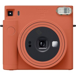 Fujifilm Instax SQUARE SQ1 Instant Camera (Terracotta Orange) + FREE Gift Bundle